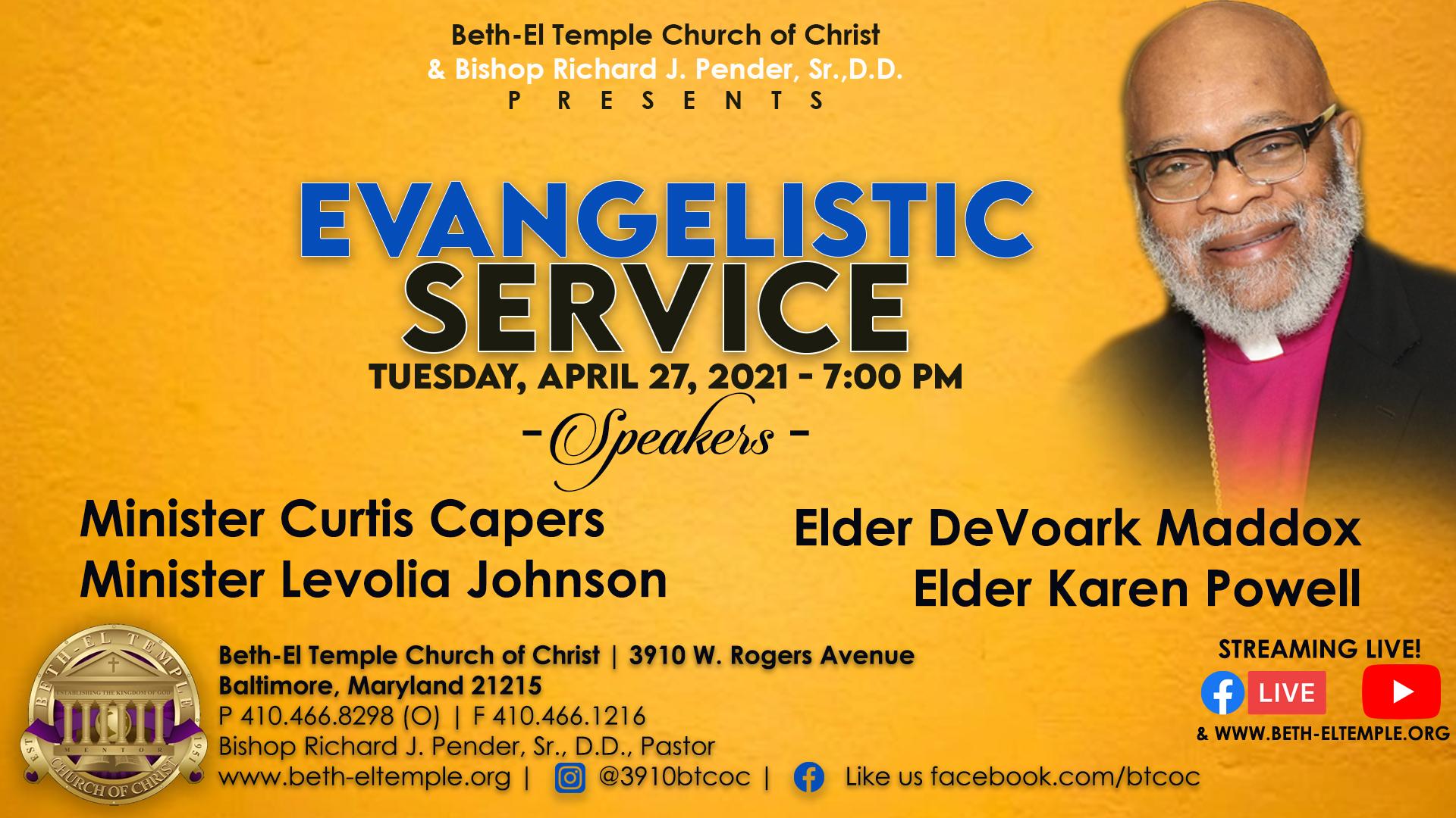 Evangelistic Service